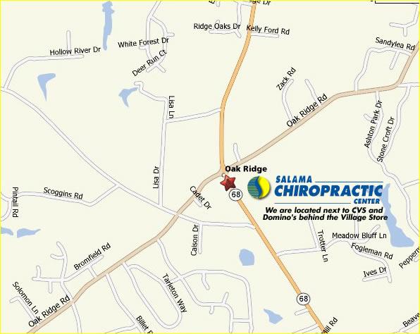 Salama Chiropractic Center Chiropractor Oak Ridge North Carolina