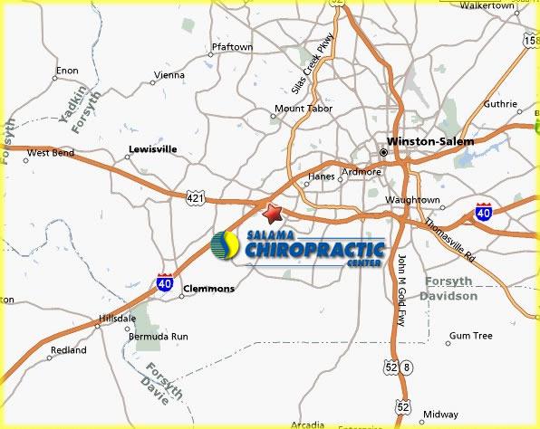 Oak Ridge Nc Map.Salama Chiropractic Center Chiropractor Oak Ridge North Carolina