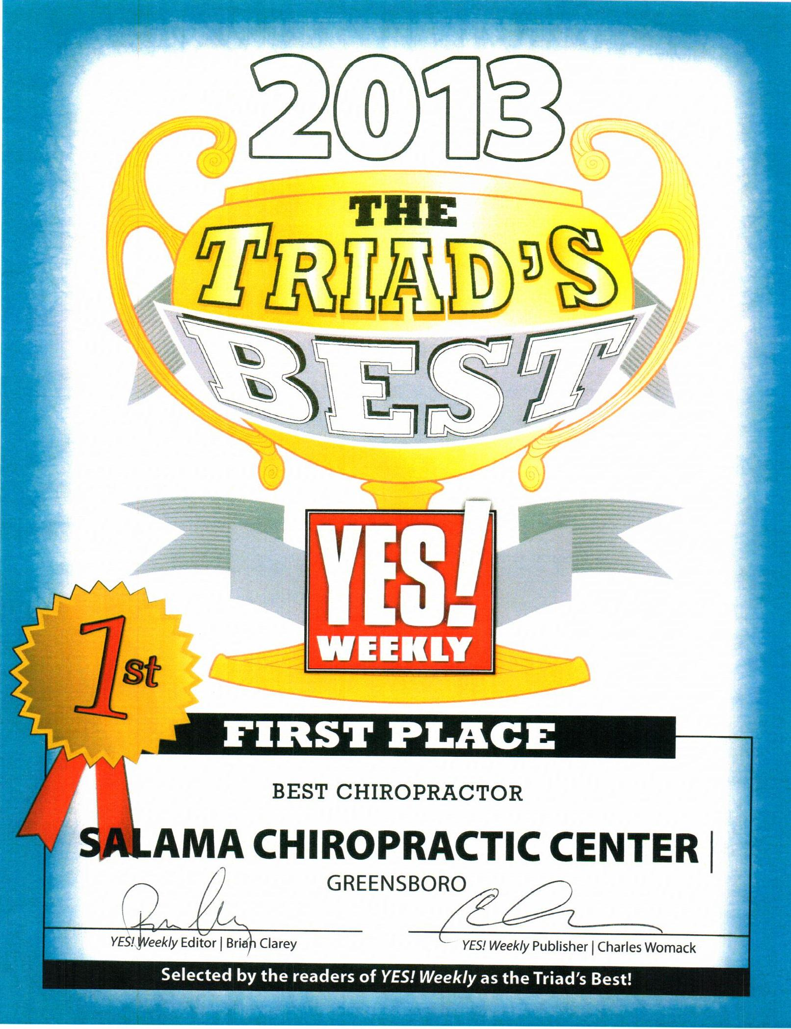 The Triad's Best Chiropractor